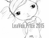 INSTANT DOWNLOAD Digital Digi Stamps..By LeaVon Price - Baker