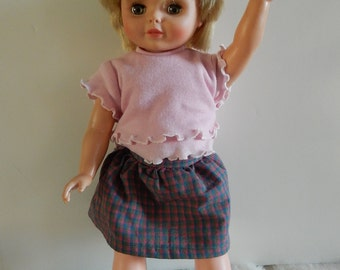 Talking Doll-SMARTY PANTS-vintage talking doll-1971 speaking dolly-19 inches tall- Works-Large talking doll-christmas gift idea for girls