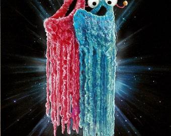 "Sesame Street Aliens Art Print 8"" x 10"" Yip Yip Yip"