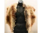 Mad Max - Fake Fur Cape Cloak Shrug - Game of Thrones by Luv Warrior
