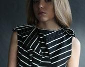 SALE 50% / Striped Dress