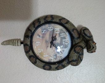 Rattle Snake Clock