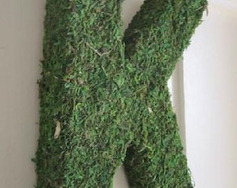 """Moss Letter - 12"""""""