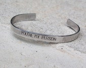 You're My Person Cuff, Personalized Cuff