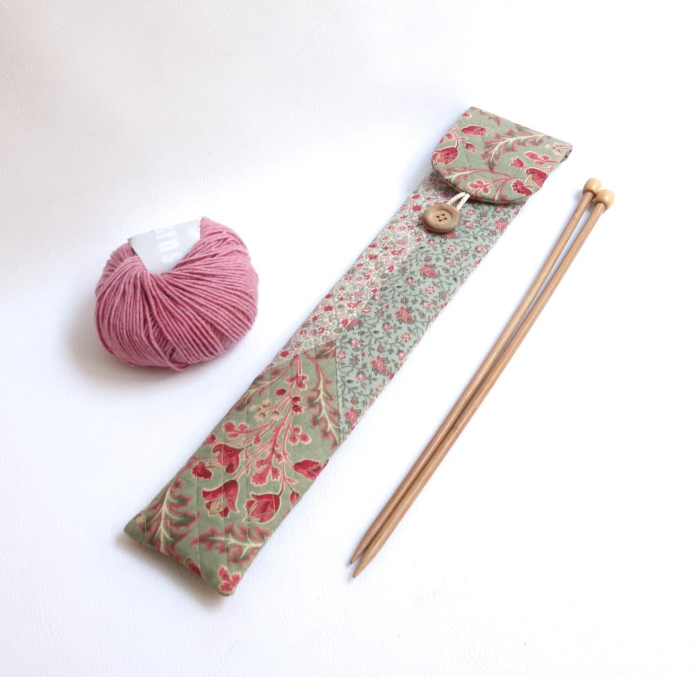 Knitting Needle Storage : Knitting needle case straight storage by sakamaliss