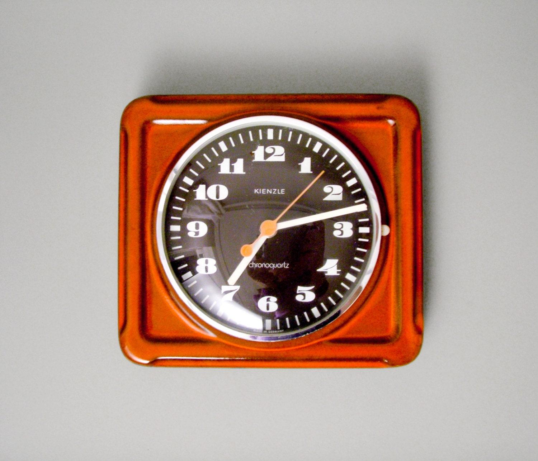 vintage german wall clock kienzle kitchen clock made in