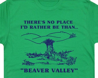Beaver Valley Funny T Shirt Sex Sexual Slogan Tee Retro Vintage Offensive Tee Rude Graphic