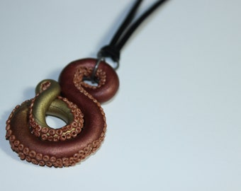Octopus Tentacle Necklace