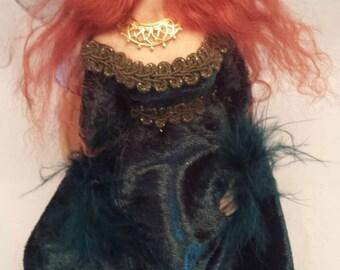 Ooak handmade Merida fairy.