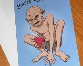 You're My Precious - Geeky Valentine Card