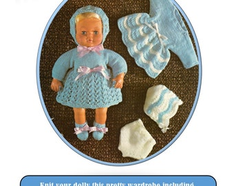 Knitting Pattern For Welsh Doll : Instant Download. Welsh Sun Bonnet Siwan quilt applique