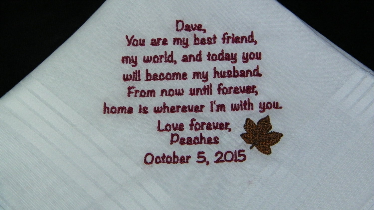Personalized GROOM Gift From BRIDE Home Is With