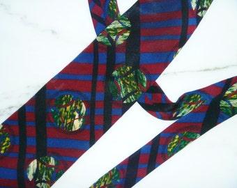 Neck tie, Silk, Vintage Designer Necktie
