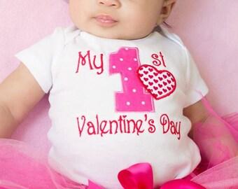 Valentine's Tutu Outfit / Valentine Tutu / Valentine's Day Tutu