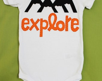 Explore Baby Onesie and Toddler Shirt