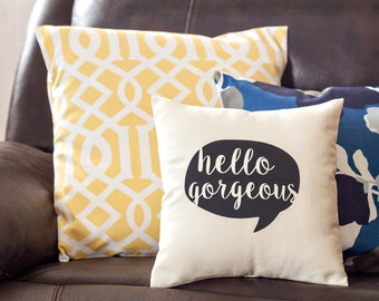 Pillow Sayings Etsy