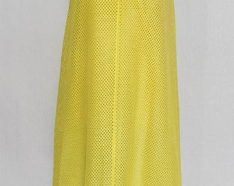 Robe jaune des années 1960