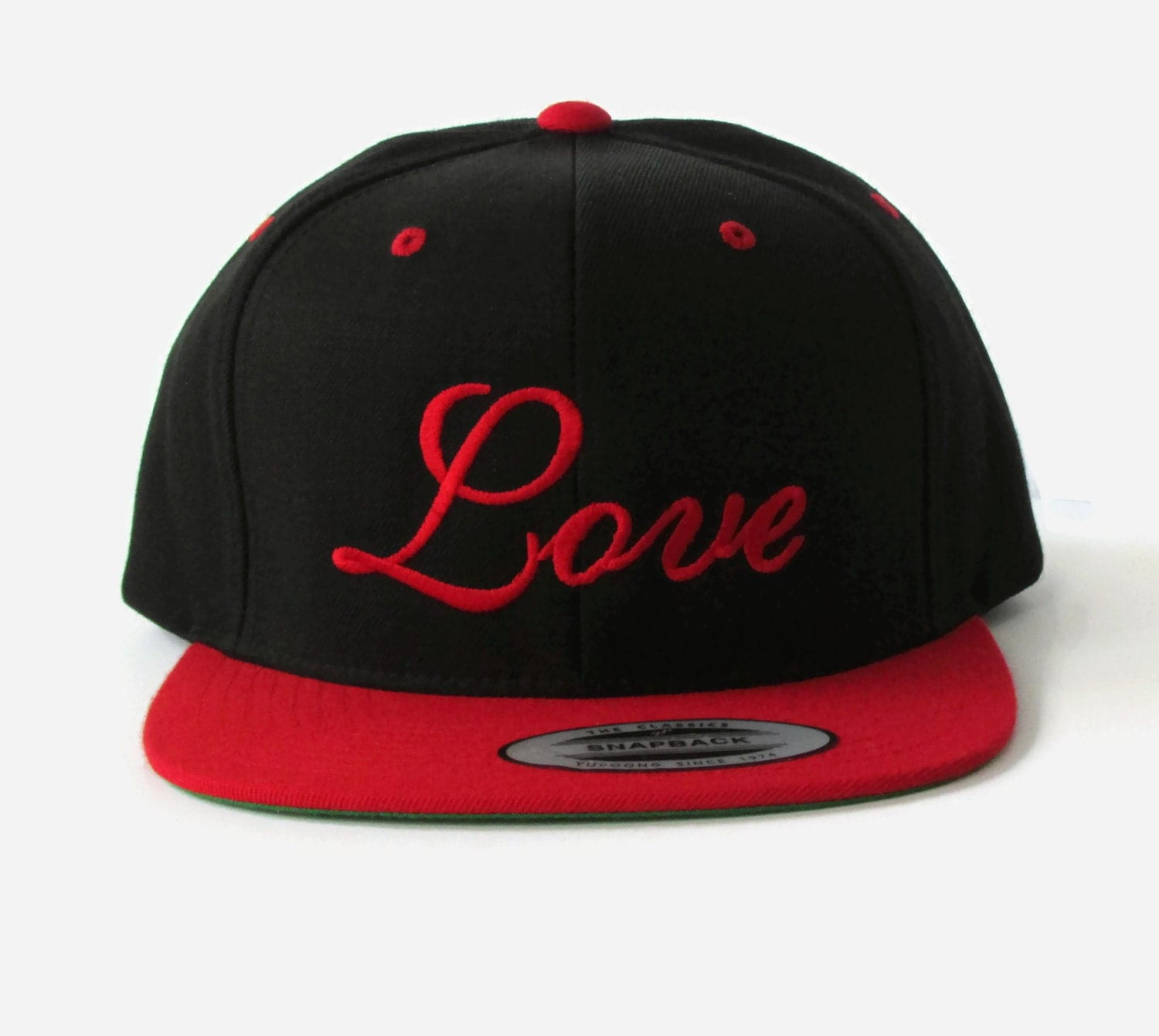 custom baseball embroidered snapback hat