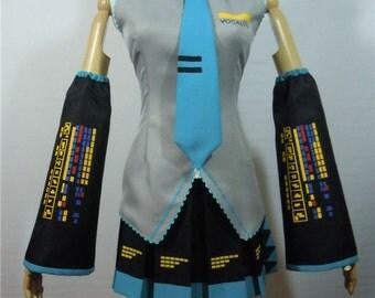 Vocaloid Hatsune Miku Custom Made Cosplay Costume
