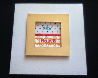 Cute Stylish New Home Moving House Card