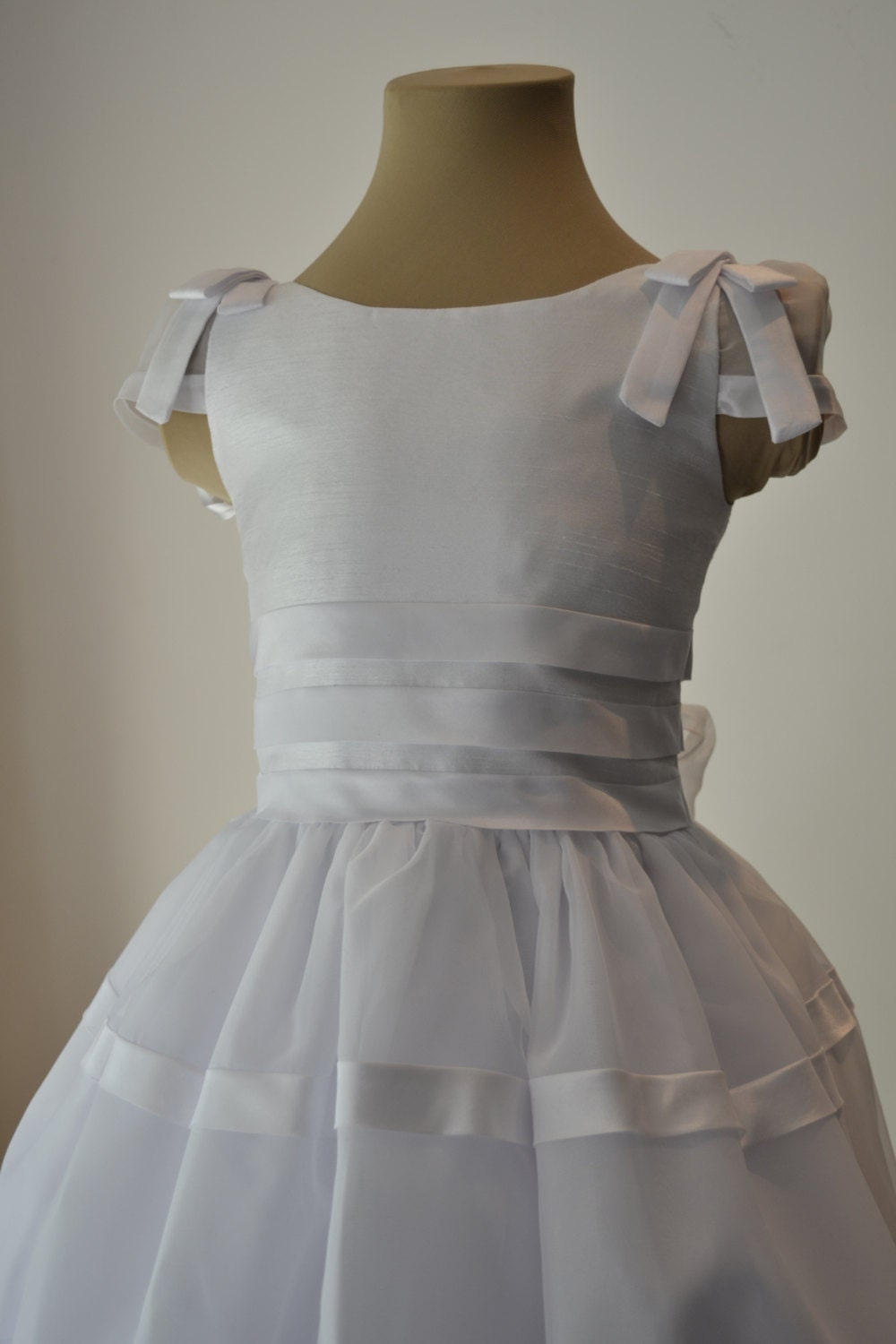 First Holy Communion Dress White Flower Girl Dress Special