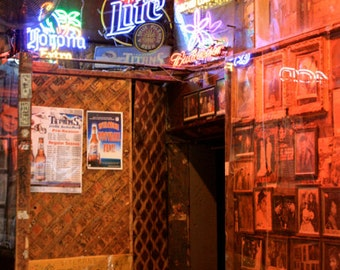 """Neon Beer Signs, Tootsie's Orchid Lounge, Nashville - 4x6"""", 6x9"""", 8x12"""" - Luster Paper"""
