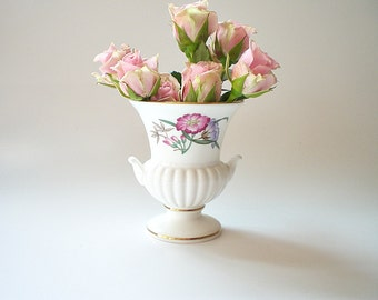Wedgwood Bone China Vase Bud Vase  Miniature Porcelain Vase Shabby Cottage Chic