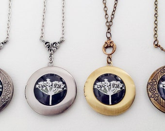 Dandelion wish Locket - Choose your style preference