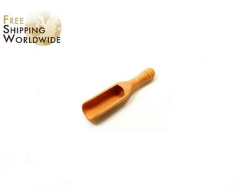 Wooden Measuring Scoop / Shovel for Salt or Sugar from Beech wood - 60