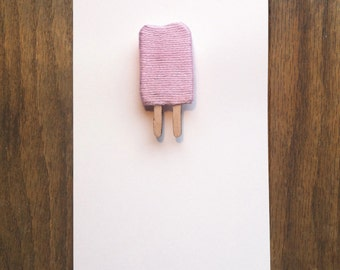 Popsicle Brooch
