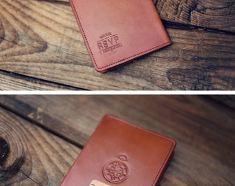 Personalized Leather Passport Cover, Real Leather, holder, wanderlust, travel, Compass Passport Cover, handmade, Custom text, name initials