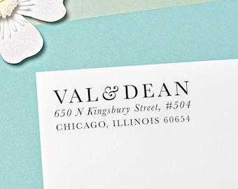 Custom Address Stamp, Self Inking Return Address Stamp, Wedding Gift, H105