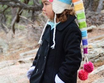 CROCHET PATTERN - Everyday Elf Hat - crochet hat pattern, crochet elf hat pattern (Toddler, Child, Adult sizes) - Instant PDF Download