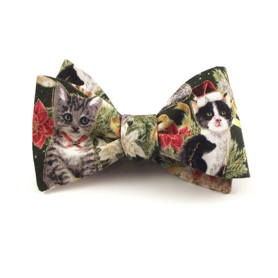 Christmas Bow Tie Ugly Christmas Sweater Bow Tie Mens Unisex