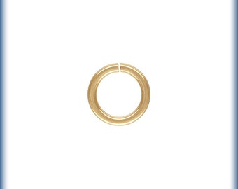 Gold Filled Open Jump Ring, 5mm Open Rings, 100 PCS, 20GA Open Jump Rings, Open Rings, 14K gold Filled, Jump rings, Wholesale findings