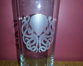 Cthulhu Pint Glass