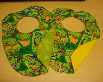 Ninja turtle bib.