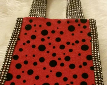 Blinged Out Mini Tote