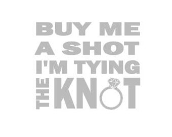 Wedding Cut File for Cutting Machines - Tying the Knot - SVG DXF EPS ps studio3 studio
