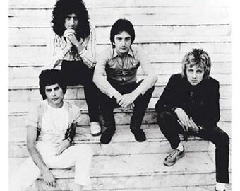 Queen Freddie Mercury Band Brazil 1981 Rare Poster