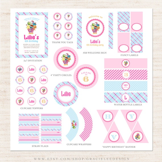 Beautiful Shopkins Printable List   Shopkins Birthday Printable Collection Shopkins .  Recent Posts