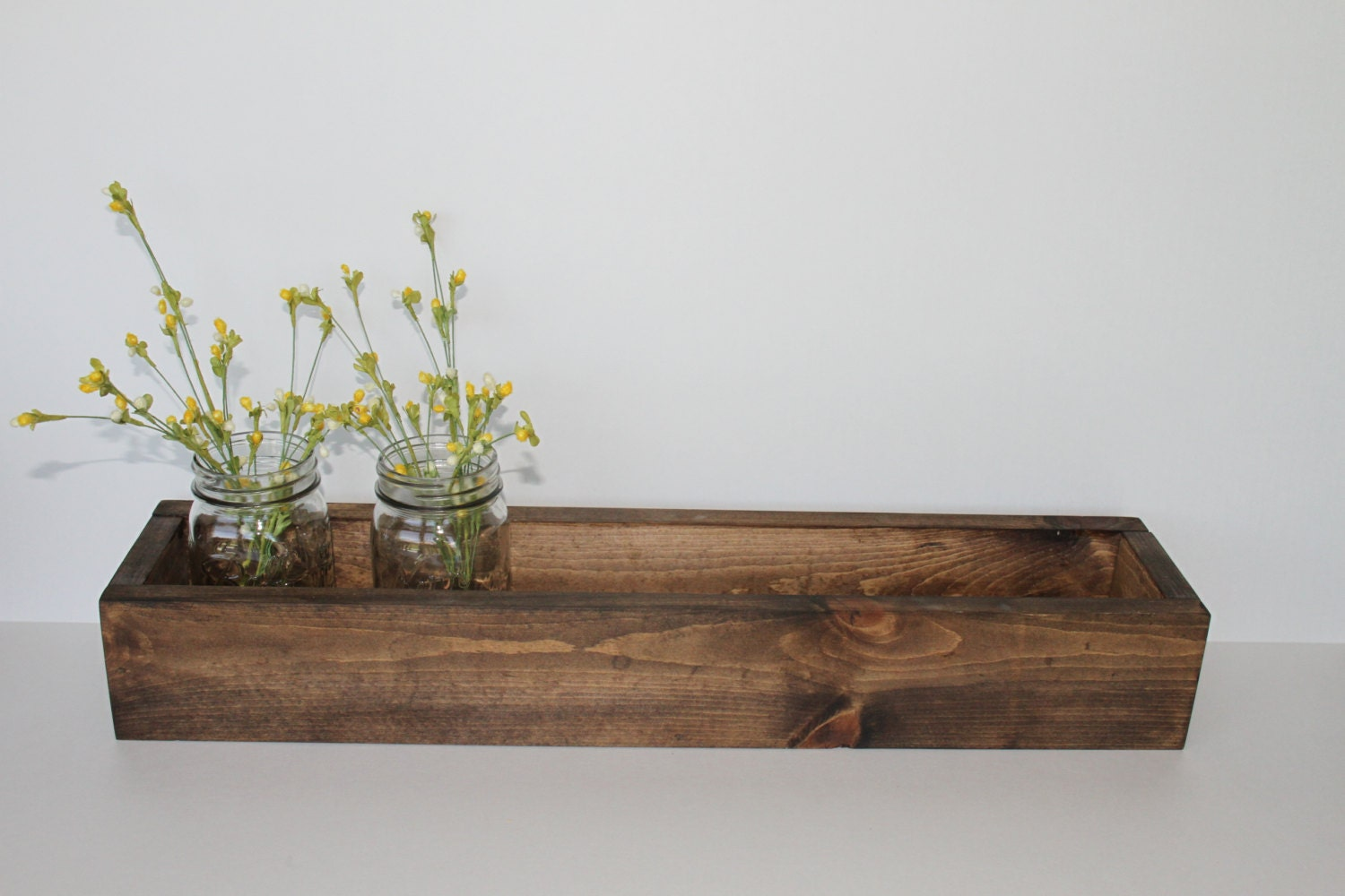 24x5x35 Wood Box Rustic Planter