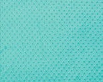 Aqua Blue Minky Dimple Dot Fitted Crib Sheet, Toddler Bed Sheet