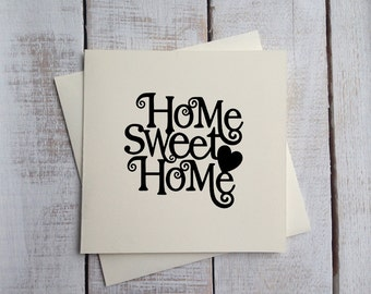 Moving Home Card / New House Card / Home Sweet Home Card / Moving Home Card / Relocation Card