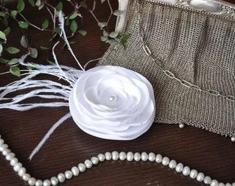 Wedding Hair Clip, Bridal Wedding Hair Fascinator, Hair Accessoires