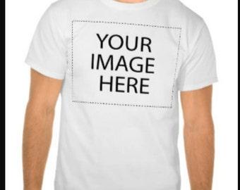 Custom photo t shirt