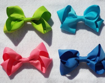 Handmade Boutique Style Hair Bow