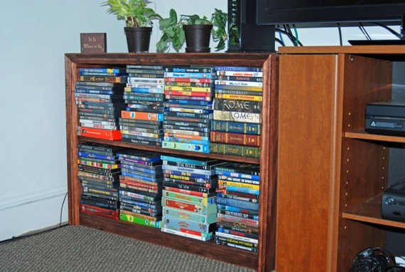Medium Shelves for Display DVDs Collectibles Books Home Organization