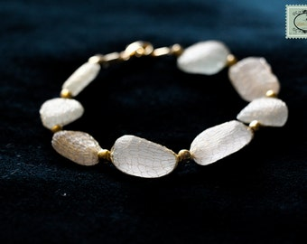 Bracelet white virgin