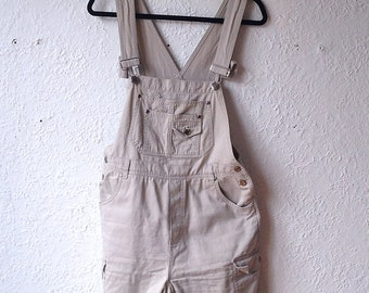 Vintage beige overalls
